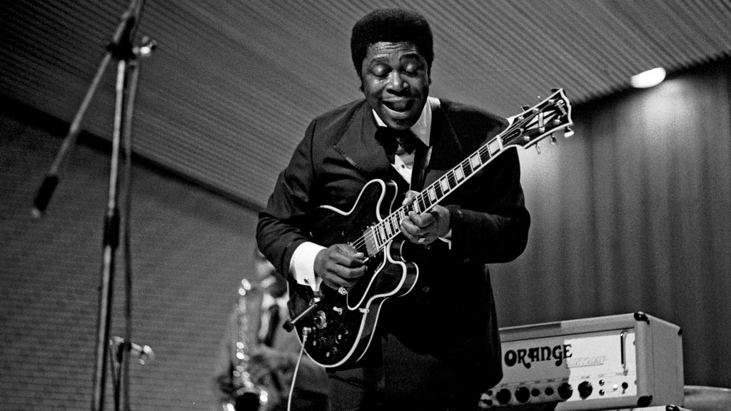 BB KING, the King of the Blues