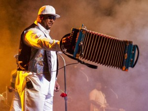 Keith Frank, the Zydeco Boss